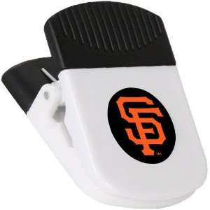 San Francisco Giants White Magnetic Chip Clip Sports