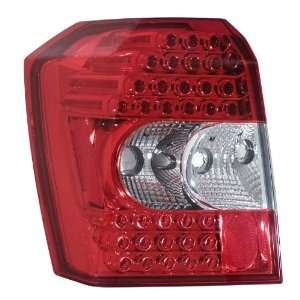 DODGE CALIBER 07 08 09 RED LED TAIL LIGHTS NEW PAIR