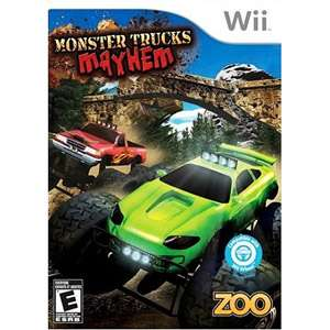 Monster Truck Mayhem Wii Game, Truck Racing Game, Zoo Racing Game, Wii