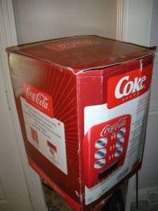 RETRO COCA COLA COKE VENDING MACHINE PERSONAL 12 12 OZ CAN
