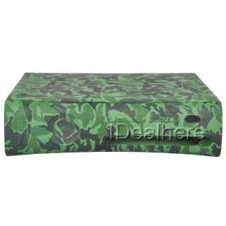 Full Housing Shell Case Camouflage for Xbox360 Console