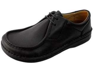 Birkenstock Footprints Mens Pasadena Black Leather Oxford EU 42R US 9