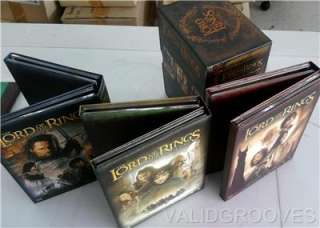 LORD OF THE RINGS Trilogy Platinum Eition 12 disc DVD
