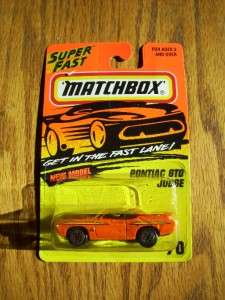 COOL Matchbox Car Pontiac GTO Judge Superfast Series
