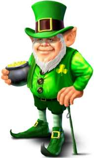 Irish lucky leprechaun cornhole game decals