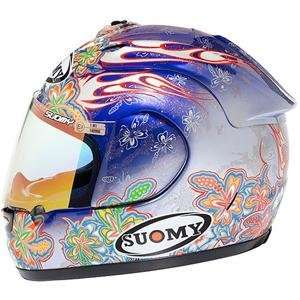 Suomy Excel Flower Helmet   Small/Blue