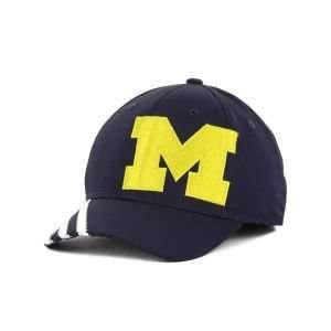 Michigan Wolverines Adidas Trefoiled Logo Flex Cap