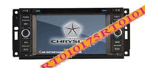 Din DVD/GPS Player RDS FOR CHRYSLER/JEEP/DODGE |