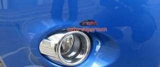 Chrome Fog Light cover trims For Ford Fiesta 2009 2011