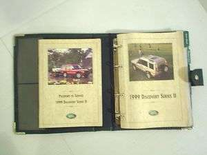 Land Rover Discovery II Owners Manual Owners Guide Book Set 99