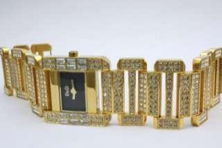 Dolce & Gabbana Women Royal Crystal Gold Watch DW0220B