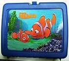 Disney Pixar Finding Nemo Thermos Hard Plastic School Lunch Box fish