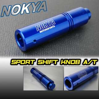 UNIVERSAL BILLET BLUE AT AUTOMATIC SHIFT GEAR KNOB FORD
