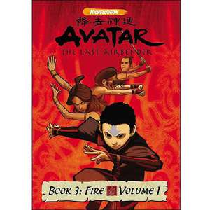 Avatar   The Last Airbender Book 3 Fire   Volume 1
