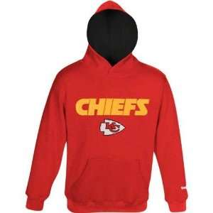 City Chiefs Youth Sportsman Hooded Sweatshirt (Red)