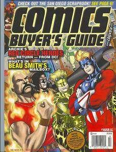 CBG Comics Buyers Guide magazine vol. 1 # 1658 FINE