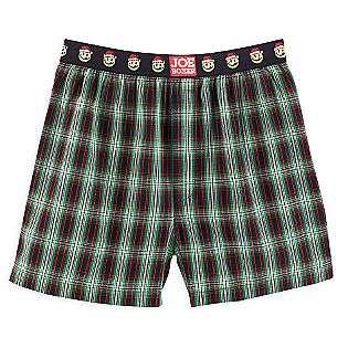 Green Plaid Boxer Shorts  Joe Boxer Clothing Mens Sleepwear