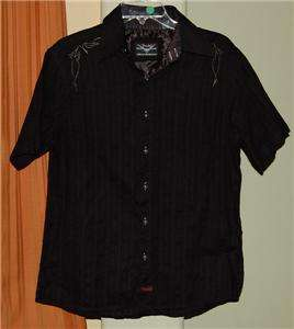 Fender GUITAR Rock & Roll Religion BLACK SHIRT MENS SM