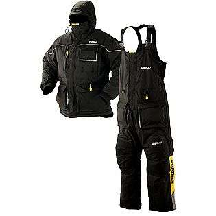 Frabill Large Black 7402 Ice Suit  Fitness & Sports Fishing Ice