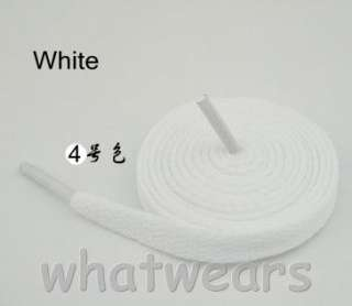 Flat Wide 16 colors Sports Canvas Shoe Laces 1.8m Z98