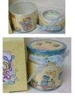 BABY STEPS KEEPSAKE BOX Blue/Boy Beautiful Gift ~NEW