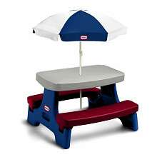 Little Tikes Endless Adventures Easy Store Junior Table With Umbrella