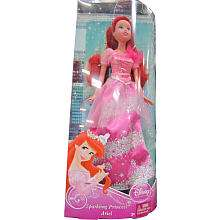 Disney Princess Ariel Sparkle Doll   Pink Gown with Silver Sparkles