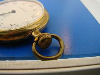 Vintage South Bend Pocket Watch Mens Gold Jewelry Men Time Piece Works