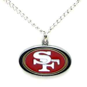 San Francisco 49ers Logo Pendant Necklace: Sports