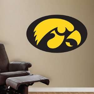 University of Iowa Fathead Wall Graphic Hawkeyes Logo
