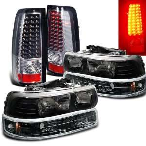 Eautolight 1999 2002 Chevy Silverado Head Lights+tail Lights Brand New
