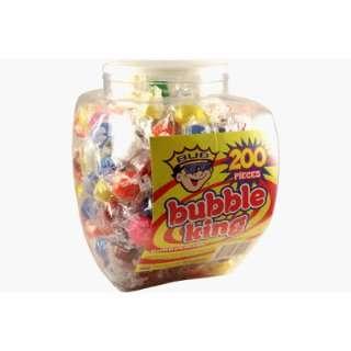 Bubble King Gum Balls 200 Piece Jar  Grocery & Gourmet