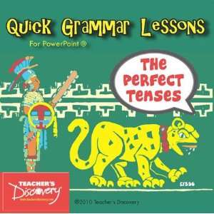 The Perfect Tenses in Spanish PowerPoint CD Office