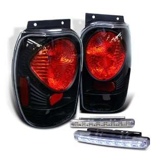 Eautolights 98 01 Ford Explorer Brake Tail Lights + LED
