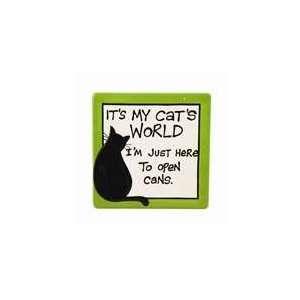 My Cats World Plaque