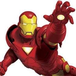 IRON MAN Marvel Hero Tony Stark Giant WALL ACCENT MURAL