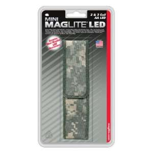 Nylon Full Flap Sheath AA LED Camo: Sports & Outdoors