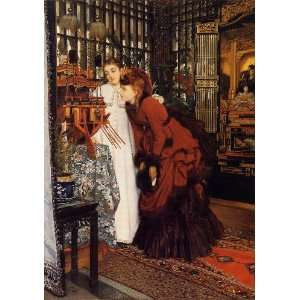 Tissot   24 x 34 inches   Young Women Looking a Home & Kitchen