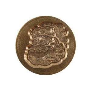 Santa / Father Christmas brass Wax Seal Stamp Office
