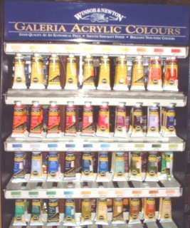 WINSOR & NEWTON GALERIA SERIES #1 ACRYLIC PAINTS 60ml