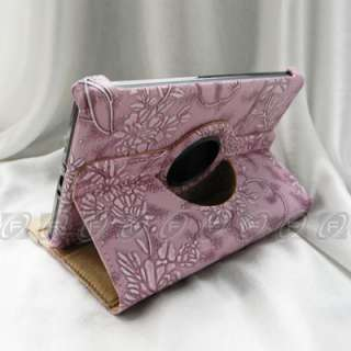 Kindle Fire Case 360 Rotating Premium PU Leather Case Cover