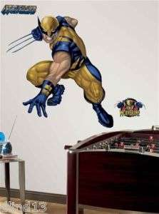 Wolverine Peel & Stick Giant Wall Mural Sticker Decal