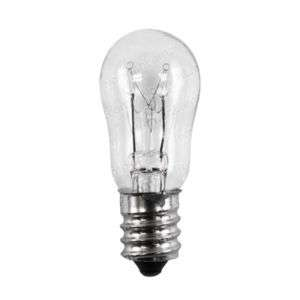 6S6 135V Candelabra screw base lamp 6W bulb Philips
