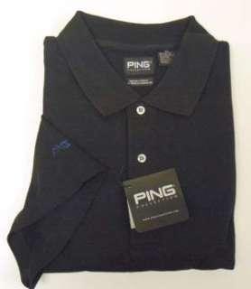 Ping Golf Black Dry Fiber Dynamics Shirt Mens 3XL New