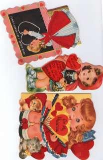lot valentine valentines day cards decoration little girl theme fuzzy