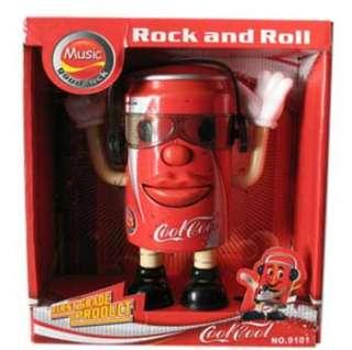 Singer Funny Singing Dancing Coke Can Toy for Kids/Children
