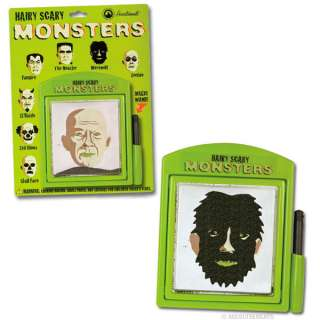Hairy Scary Monsters   New Magnetic Drawing Set
