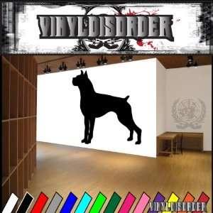 Dogs Working Boxer 4 Vinyl Decal Wall Art Sticker Mural