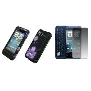 Case Cover + Screen Protector for Sprint HTC EVO Shift 4G Electronics