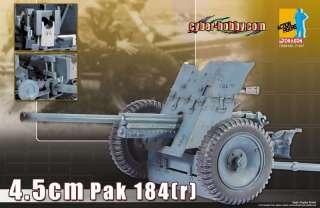 Dragon CYBER HOBBY WWII German 4.5cm Pak 184 [r] 1/6